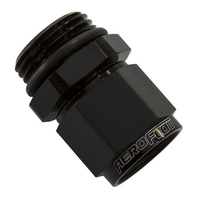 Aeroflow AF907-10BLK -10ORB > Female -10 Swivel Nut Black
