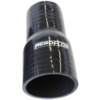 "AEROFLOW STRAIGHT SILICONE HOSE REDUCER 2.75"" TO 2.5""ID X 5"" LONG AF9201-275-250"