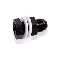AEROFLOW FUEL CELL FITTING -16AN BLACK AF921-16BLK