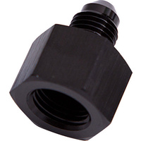 AEROFLOW ALLOY FEMALE -10AN TO -8AN MALE REDUCER BLACK AF950-10-08BLK