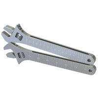 Aeroflow AF98-2039S Adjustable Wrench Grip Spanner1 x Small & 1 x Large Shorty