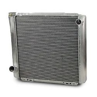 "AFCO UNIVERSAL ALUMINIUM CROSSFLOW RADIATOR FORD STYLE 22"" HEIGHT 19"" AFC80100FN"