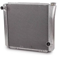 "AFCO UNIVERSAL FIT CROSS FLOW RADIATOR GM STYLE 22"" x 19"" LH IN/RH OUT AFC80100N"