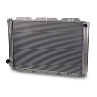 "AFCO UNIVERSAL CROSS FLOW RADIATOR FORD STYLE 31"" X 19"" RH IN/LH OUT AFC80102FN"