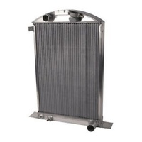 AFCO STREET ROD ALUMINIUM RADIATOR SUIT 37, 38, 39 FORD CHEV ENGINE AFC80142N