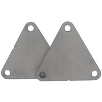 "ALLSTAR 1/4"" STEEL MOTOR ENGINE MOUNT PAD (CHEVY V8) - Pair  ALL38090"