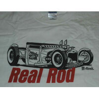 ANDY'S REAL ROD T-SHIRT WHITE XX-LARGE ANDYS81202XL