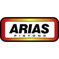 "ARIAS FORGED FLAT TOP PISTONS 4.005"" BORE 4.1"" STROKE GM LS1 AP1010410"