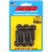 "Bellhousing To Engine Block Bolt Kit (Suit Chev V6-V8, Black Oxide, Hex Head, 3/8-16, 1.375"" UHL) (AR129-0901)"