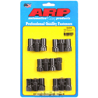 "Perma Loc Posi Locks, 12-Point Black Oxide (7/16"" Stud  With .550"" Body O.D, Suit Aluminium Rockers (16 Pack)) (AR300-8245)"