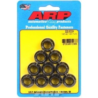"ARP ARP300-8334 Custom 450 Black Oxide 1/2""-20 RH Thread 12-Point Nuts"