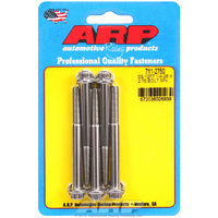 "ARP SS 12PT BOLTS 1/4"" UNF x 2.75"" AR711-2750 POLISHED SET OF 5"