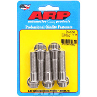 "ARP ARP714-1750 S/S 12PT Bolts 7/16"" UNF X 1.750"" ARP714-1750 Polished Set of 5"