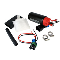 AEROMOTIVE E-85 STEALTH 340 ELECTRIC FUEL PUMP ARO11541 OFFSET IN 340lph, 90psi