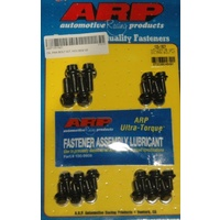 ARP ARP105-1801 12 Pt Oil Pan Bolt Kit ARP105-1801 Black Oxide Suit Holden V8