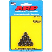 "ARP ARP200-8631 Cadmium 1/4""-28 RH Thread Hex Nuts"