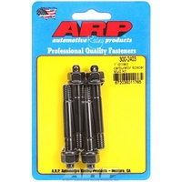 ARP ARP300-2407 Carburetor Studs Black Oxide Drilled 5/16-18/24' X 2.700' Long Set of 4