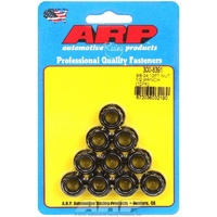 "ARP ARP300-8391 Fasteners ARP300-8391 Black Oxide 3/8""-24 RH Thread 12-Point Nuts"
