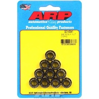 "ARP ARP301-8341 Fasteners ARP301-8341 Black 3/8""-16 RH Thread 12-Point Nuts"