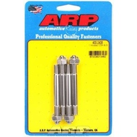 ARP ARP400-2408 Carburetor Studs Stainless Steel Polished 5/16-18/24' X 3.200' Long Set of 4