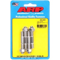 ARP ARP400-2414 Carburetor Studs Stainless Steel Polished 5/16-18/24' X 2.225' Long Set of 4