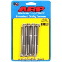 ARP ARP400-7510 Valve Cover Bolts Stainless 12-Point Centerbolt Stamped Steel Covers Chevrolet Small Block Set of 8