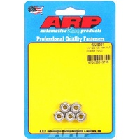ARP ARP400-8661 Stainless Steel Nyloc Hex Nut 1/4 -20 RH Thread Set of 5 ARP400-8661