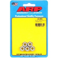 ARP ARP400-8662 Stainless Steel Nyloc Hex Nut 5/16 -18 RH Thread Set of 5 ARP400-8662