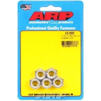 ARP ARP400-8666 Stainless Steel Nyloc Hex Nut 7/16 -14 RH Thread Set of 5 ARP400-8666
