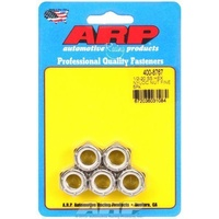 "ARP ARP400-8767 Stainless Steel Nyloc Hex Nut 1/2""-20 RH Thread Set of 5 ARP400-8767"