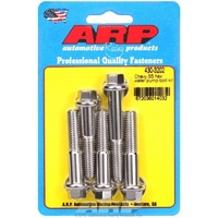 ARP ARP430-3202 Polished S/Steel Hex Water Pump Bolt Set Chev BB/SB Long Pump ARP430-3202
