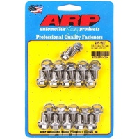 ARP ARP435-1802 Stainless Steel Hex Oil Pan Bolt Kit Suit Chev BB 396-454 V8 ARP435-1802