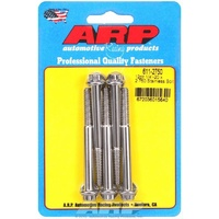 "ARP ARP611-2750 12PT Polished S/S Bolts 1/4""-20 RH X 2.75"" UHL Set of 5 ARP611-2750"