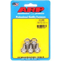 "ARP ARP612-0560 S/S 12PT Bolts 5/16""-18 RH X 0.560"" UHL Polished Set of 5 ARP612-0560"