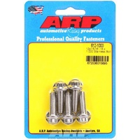 "ARP ARP612-1000 S/S 12PT Bolts 5/16""-18 RH X 1.000"" UHL Polished Set of 5 ARP612-1000"