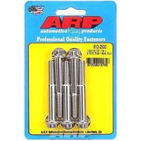 "ARP ARP612-2500 S/S 12PT Bolts 5/16""-18 RH X 2.500"" UHL Polished Set of 5 ARP612-2500"