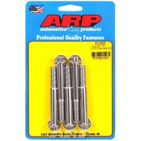 "ARP ARP613-3000 S/S 12PT Bolts 3/8""-16 RH X 3.000"" UHL Polished Set of 5 ARP613-3000"