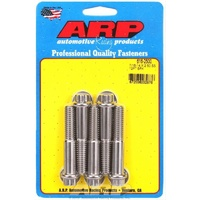 "ARP ARP616-2500 Polished S/S 12PT Bolts 7/16""-14 RH X 2.500"" UHL Set of 5 ARP616-2500"
