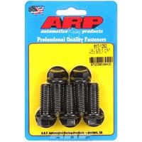 "ARP ARP617-1250 8740 Chromoly Hex Bolts 1/2""-13RH X 1.250"" UHL Black Set of 5 ARP617-1250"