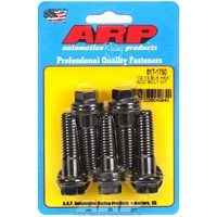 "ARP ARP617-1750 8740 Chromoly Hex Bolts 1/2""-13 X 1.750"" UHL Black Set of 5 ARP617-1750"