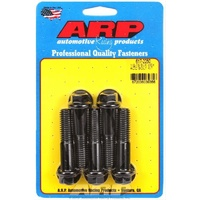 "ARP 8740 CHROMOLY HEX BOLTS 1/2""-13 x 2.250"" UHL BLACK SET OF 5 ARP617-2250"