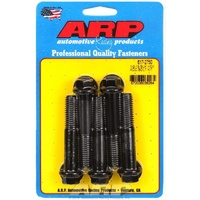 "ARP ARP617-2750 8740 Chromoly Hex Bolts 1/2""-13 X 2.750"" UHL Black Set of 5 ARP617-2750"