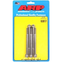 "ARP S/S HEX BOLTS 5/16""-18 RH x 4.250"" UHL POLISHED SET OF 5 ARP622-4250"