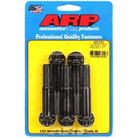 "ARP ARP627-2750 12PT 8740 Chromoly Bolts 1/2""-13 X 2.750"" UHL Black Set of 5 ARP627-2750"