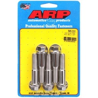 "ARP ARP646-2250 S/S Hex Bolts 1/2""-13 X 2.250"" UHL Polished Set of 5 ARP646-2250"