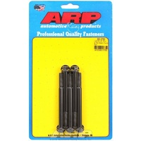 "ARP 8740 CHROMOLY HEX BOLTS 5/16""-18 RH x 3.750"" UHL BLACK SET OF 5 ARP651-3750"