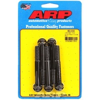 "ARP 8740 CHROMOLY HEX BOLTS 3/8""-16 RH x 3.000"" UHL BLACK SET OF 5 ARP652-3000"