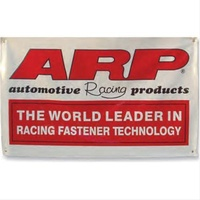 "ARP ARP999-9950 ARP999-9950 Automotive Racing PRoducts Fabric Banner White 36"" X 60"""