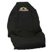 AUTOMETER BLACK THROW SEAT COVER UNIVERSAL WITH LOGO AU-THROW