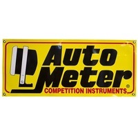 AutoMeter AU0212 Performance Gauges Race Banner 3 Foot - Perfect For The Man Cave / Shed